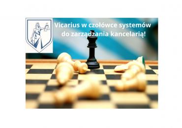 Vicarius w ścisłej czołówce systemów do zarządzania kancelarią stosowanych przez ankietowanych prawników!- Raport Komisji LegalTech